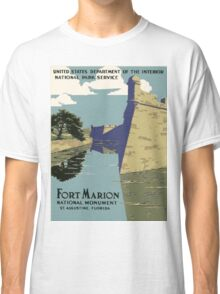 Vintage poster - Fort Marion Classic T-Shirt