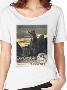 Vintage poster - Don Quichotte Women's Relaxed Fit T-Shirt