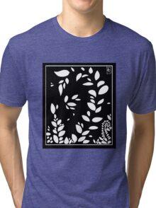 Leaf Aesthetic Tri-blend T-Shirt