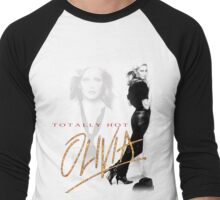Oivia Newton-John - Totally Hot - 1979 Men's Baseball ¾ T-Shirt