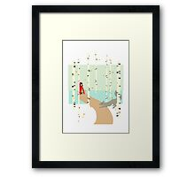 Riding Hood Framed Print