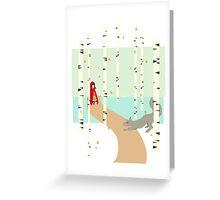 Riding Hood Greeting Card