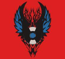 Vinyl Record Tribal Wings One Piece - Short Sleeve