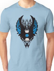 Vinyl Record Tribal Wings Unisex T-Shirt