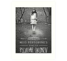 Miss Peregrine's Home for Peculiar Children Film Art Print