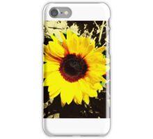 Bright Yellow Sunflower  iPhone Case/Skin
