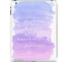 Bite - Troye Sivan  iPad Case/Skin