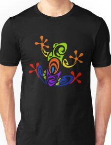 Colorful Tribal Art Frog  Unisex T-Shirt
