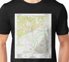 USGS TOPO Map Arkansas AR Fort Smith 258489 1987 24000 Unisex T-Shirt