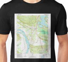 USGS TOPO Map Arkansas AR Mayflower 259043 1987 24000 Unisex T-Shirt