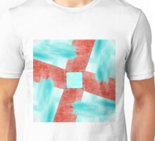 Abstract Wall and Sky Unisex T-Shirt