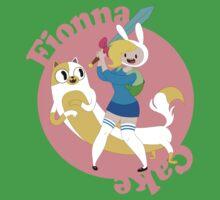 Fionna & Cake One Piece - Short Sleeve