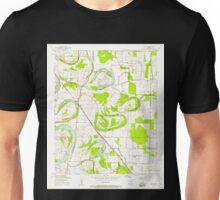 USGS TOPO Map Arkansas AR Scott 259567 1954 24000 Unisex T-Shirt