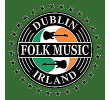 Dublin folk music irland Photographic Print
