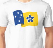 Proposed Australian Capital Terrritory (ACT) Flag - Flying Unisex T-Shirt