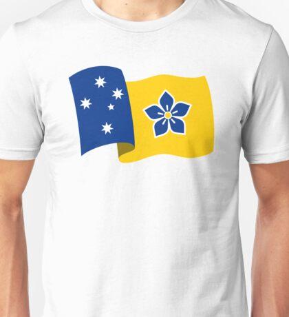 Proposed Australian Capital Terrritory (ACT) Flag - Flying Unisex T-Shirt