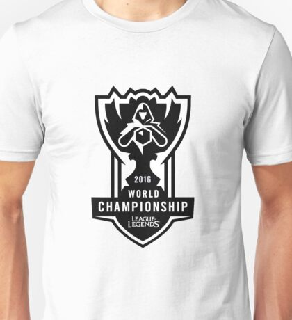 League of Legends Worlds 2016 Unisex T-Shirt