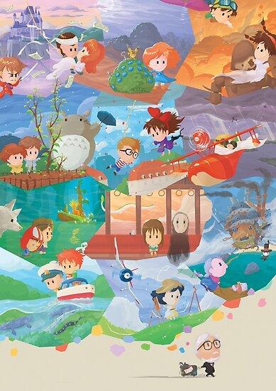 Miyazaki Fresco - Second Run (60 left) by orioto
