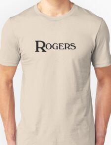 Vintage rogers (black) Unisex T-Shirt