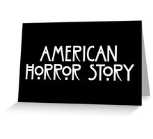 American Horror Story Greeting Card