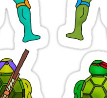 Ninja Turtles LV Sticker