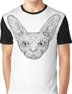 Sphinx Cat Graphic T-Shirt