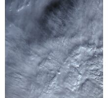 Canadian Pacific Ocean Clouds Satellite Image Photographic Print
