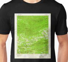 USGS TOPO Map Arkansas AR Oden 260224 1959 62500 Unisex T-Shirt