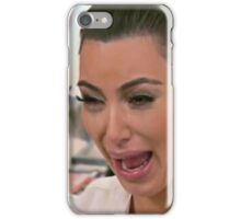 kim kardashian cry iPhone Case/Skin