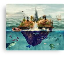 Fairy Tale Island Canvas Print