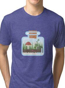 Terrarium in a Bottle Tri-blend T-Shirt