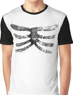Skeleton Roughy Ribs  Graphic T-Shirt