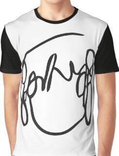 Scott Pilgrim's Ramona Scribble Graphic T-Shirt