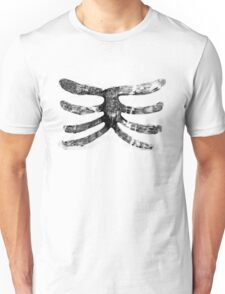 Skeleton Roughy Ribs  Unisex T-Shirt