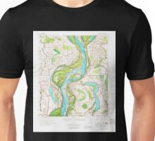 USGS TOPO Map Arkansas AR Readland 260267 1972 62500 Unisex T-Shirt