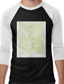 USGS TOPO Map Arkansas AR Willow 259881 1965 24000 Men's Baseball ¾ T-Shirt