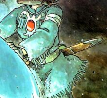 Nausicaa Of The Valley Of The Wind Sticker