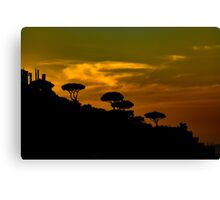 Sunset for the Heart Canvas Print