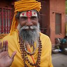 sadhu in the street | varanasi by handheld-films
