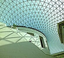 Great Court, British Museum, London by Ludwig Wagner