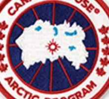 canada goose logo  Sticker