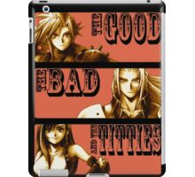 The Good, The Bad and The Titties iPad Case/Skin