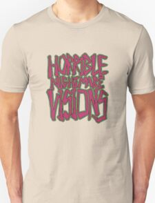 Horrible Nightmare Visions - Vintage Unisex T-Shirt