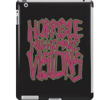 Horrible Nightmare Visions - Vintage iPad Case/Skin