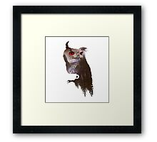 Not what they seem Framed Print