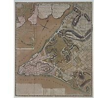 445 Plan of New York City of New York and its environs to Greenwich Town Survey'd in the winter 1775 Photographic Print
