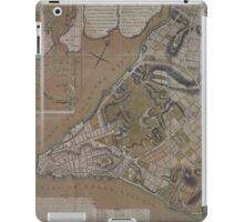 445 Plan of New York City of New York and its environs to Greenwich Town Survey'd in the winter 1775 iPad Case/Skin