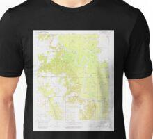 USGS TOPO Map Arkansas AR Aberdeen 257836 1968 24000 Unisex T-Shirt