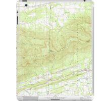 USGS TOPO Map Arkansas AR Bates 257942 1958 24000 iPad Case/Skin