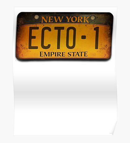ECTO 1 Poster